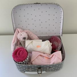 Kraamkoffer roze