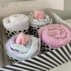 Cupcakes 2 slabbetjes en 2 luiers