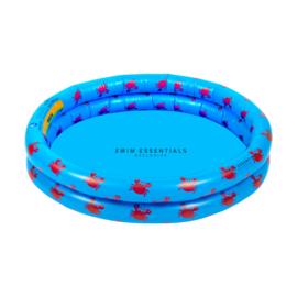 Baby zwembad blauwe krab 60 cm