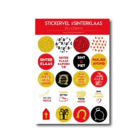 Stickervel 'Sinterklaas'