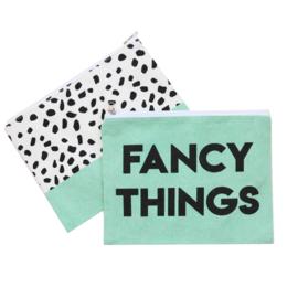 Etuis 'fancy things' - mint