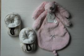 Melton baby slofjes + happy horse rabbit richie tuttle