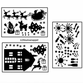 GROTE huisjes kerst XL