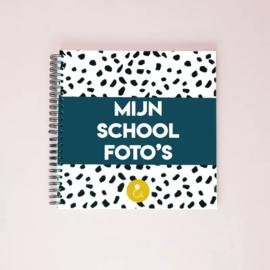 Schoolfotoboek donkerblauw