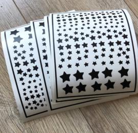 DIY sterren stickers