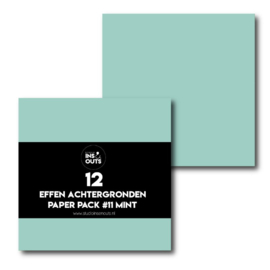 Paper Pack #11 mint effen