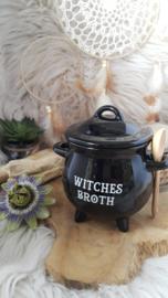 "Soepkom ""Witches Broth"" met lepel"