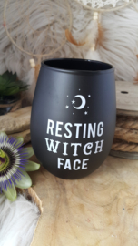 "Drinkglas ""Resting Witch Face"""