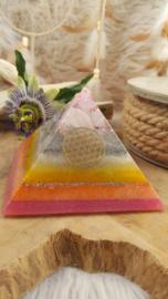 Orgonite Piramide (nr 9)