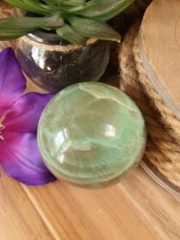 Groene Maansteen bol +/- 55mm (nr 3)