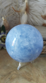 Blauwe Calciet Bol +/- 91mm