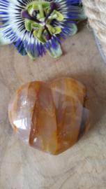 Limonietkwarts hart / Golden healer (nr 2)