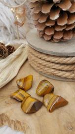Tijgeroog trommelsteen 15-25 gram