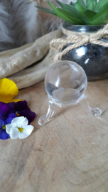 Bergkristal bol (nr 1) 38 mm