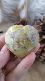 Groene Opaal hart