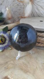 Zwarte Toermalijn Bol (1) +/- 70 mm