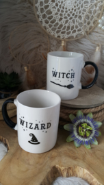 "Beker / Mok set ""Witch and Wizard"""