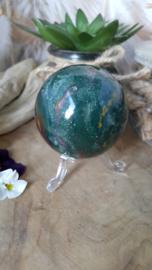 Heliotroop (bloedsteen) bol ± 55 mm