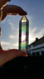 Regenboog Fluoriet punt / obelisk  (nr 5)