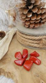 Rode Jaspis 10-20 gram