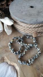 Splitarmband Dalmatiër Jaspis