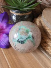 Groene Maansteen bol +/- 60mm (nr 5)
