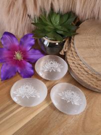 Seleniet zeepsteen Lotus