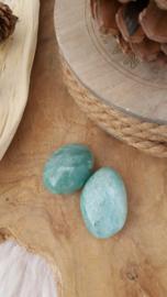 Amazoniet handsteen 50-55 gram