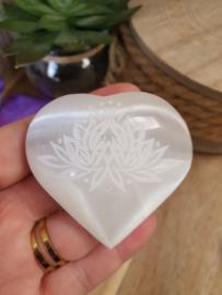 Seleniet hart Lotus klein
