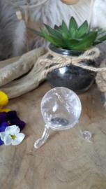 Bergkristal bol (nr 2) 40mm