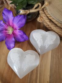 Seleniet hart Engelenvleugels groot