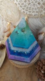 Orgonite Hexagonal piramide (zeshoekige piramide)