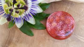 Orgonite chakra healing disk  Rode Jaspis(nr 1)