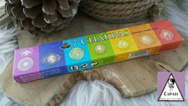 Wierook 7 chakra's