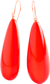 ZSISKA earrings red COLORFUL STATEMENTS