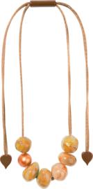 ZSISKA necklace copper CAPRI