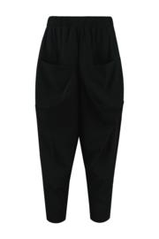 ELSEWHERE broek RICKIE - zwart travel / tech jersey