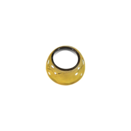 ZSISKA ring yellow ochre basic. EARTH
