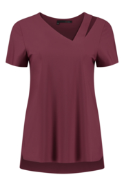 ELSEWHERE top RUBY - coral travel / tech jersey