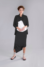 ELSEWHERE jacket structured jersey black STYLE 3247