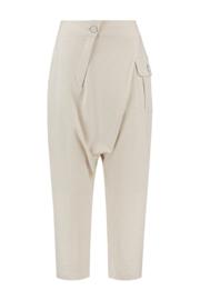 ELSEWHERE broek dhoti stijl EVY - naturel linnen