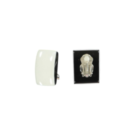 ZSISKA earrings white black  CLIP