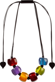 ZSISKA ketting multi colour, BELLISSIMA.