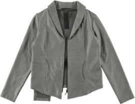 ELSEWHERE biker  jacket in nappa coated  jogging fabric STYLE 2834