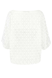 ELSEWHERE top MISCHA transparant - offwhite