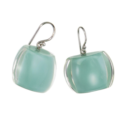 ZSISKA earrings green mint, BELLISSIMA