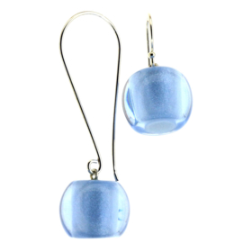 ZSISKA earrings blue - spectrum  BALL'S