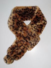 ROMANO soho faux fur Leo scarf, 9 x 83 cm