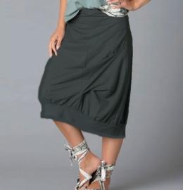 ELSEWHERE skirt in black LINO fabric 3030