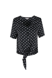 C&S top dot black white SELMA